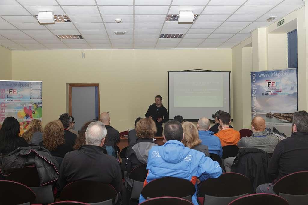 Aceptación máxima en el taller de Pedro Javier Pascual sobre Macro 2