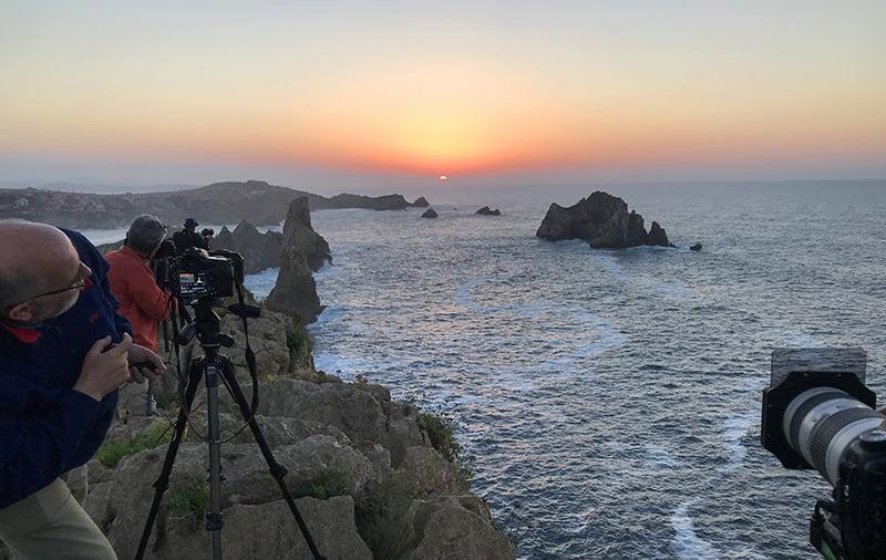 Éxito en el taller que Senén Cadenas impartía de fotografía de paisaje 2