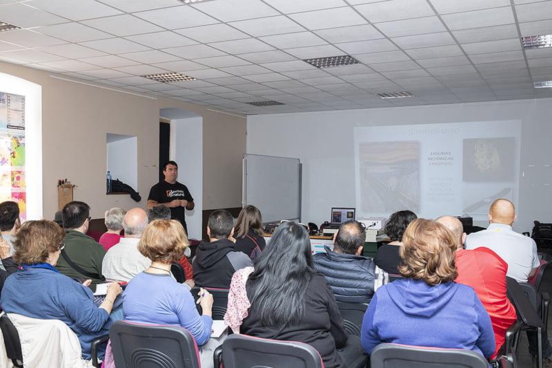Éxito en el taller de Juan Tapia y David Santiago 2