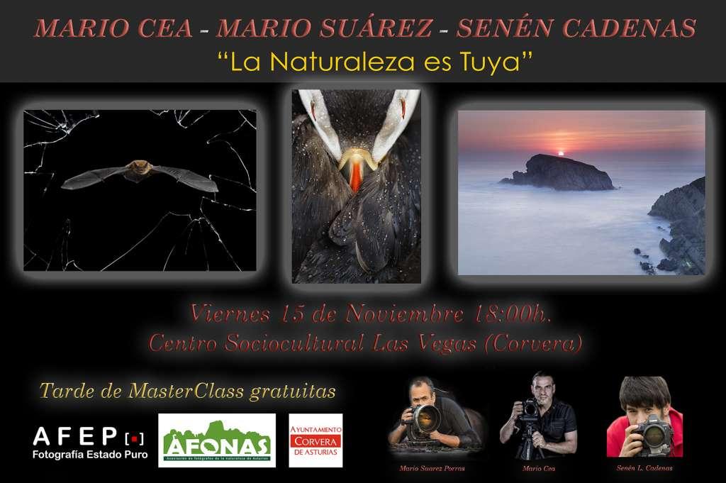Mario Suárez Porras, Senén L. Cadenas y Mario Cea nos...... 1