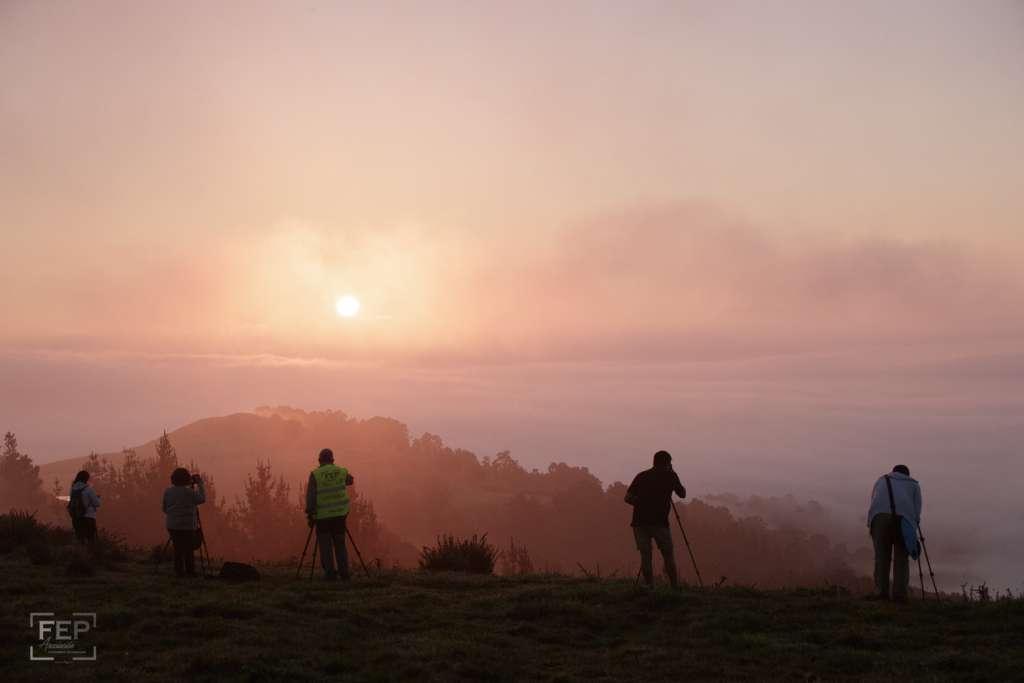 II QDD, piloña, infiesto, 1/9/18, 90 participantes, monte cayon, amanecer,